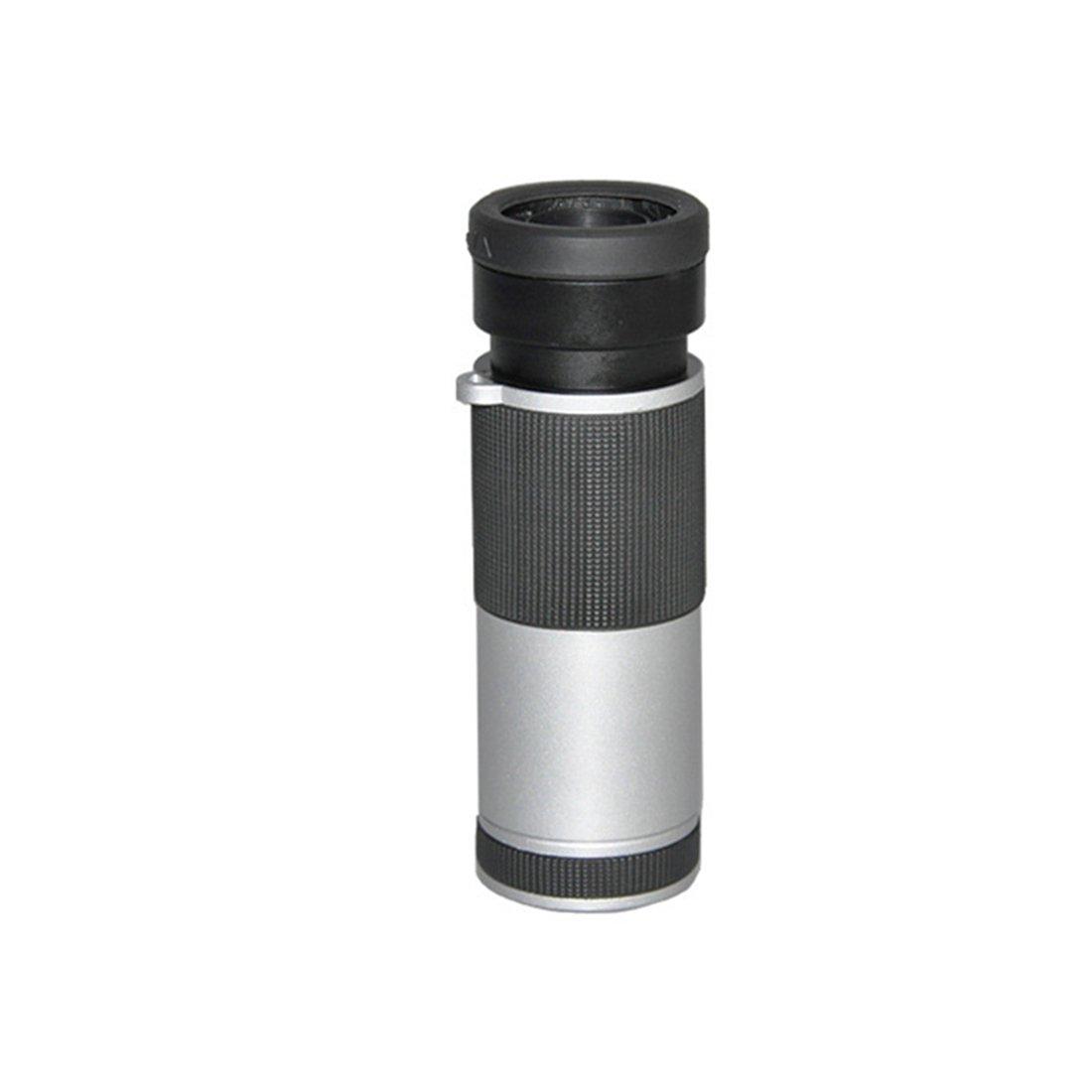 ZGQA-GQA Wide Angle Full Screen Single Tube Mobile Phone Telescope for Adult (Color : Black) by ZGQA-GQA