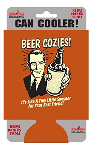 Retro Spoofs BEER COZIES Can Cooler, Officially Licensed Products - 5.5