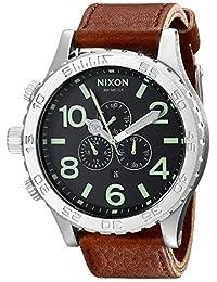 Nixon Men's A1241037 51-30 Chrono Leather Watch