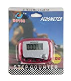Toolmart Pedometer Step Counter Fitness Tracker Exercise Monitor - Wholesale Case Of 24