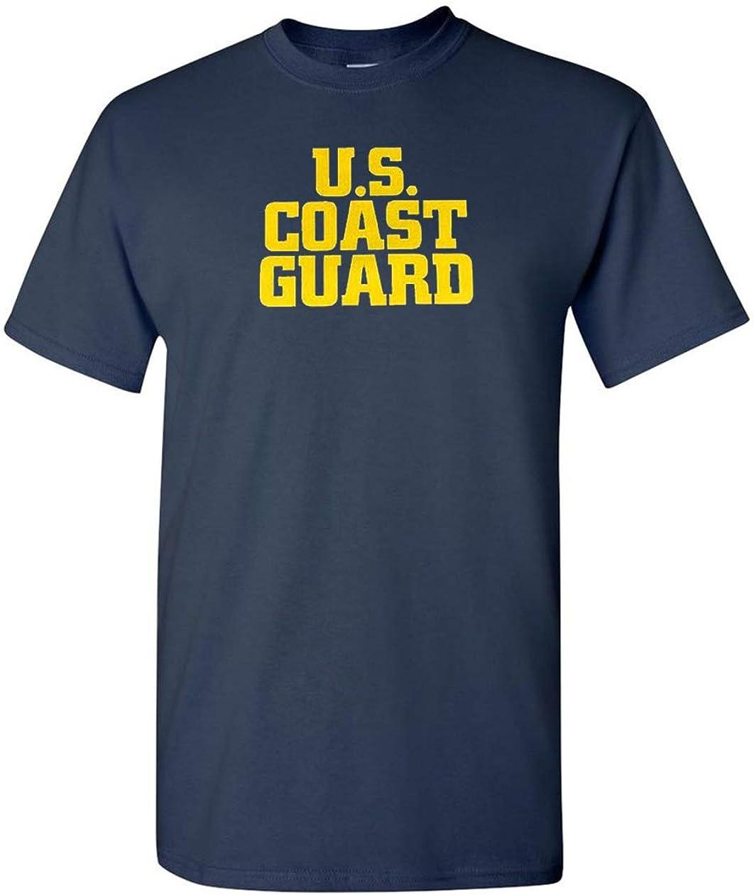 Got-Tee US ejército Militar Nos Costa Guardia Camiseta - Azul ...