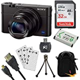 Sony Cybershot RX100 III 20.2MP Digital Camera (32GB Bundle)