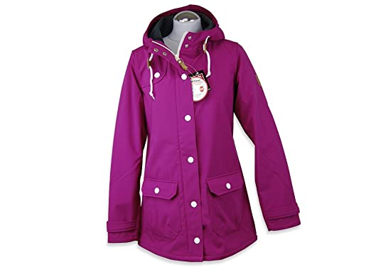 Derbe winterjacke grau