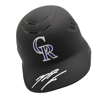 897bd042ca225 Amazon.com: Nolan Arenado Autographed/Signed Colorado Rockies ...