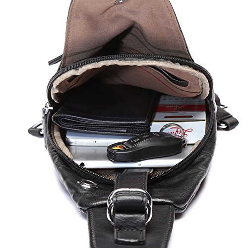 Chest Pack T T Bags Capacity color Bag 1 2 High Men Shoulder Crossbody Qidi Multifunction 5dxOPz5