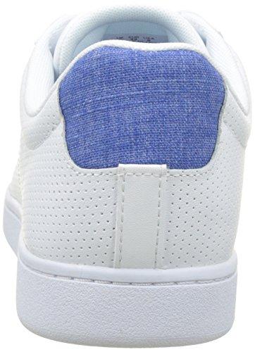 Lacoste Carnaby Evo 217 1, Bajos Hombre Multicolor (Blanc/bleu)