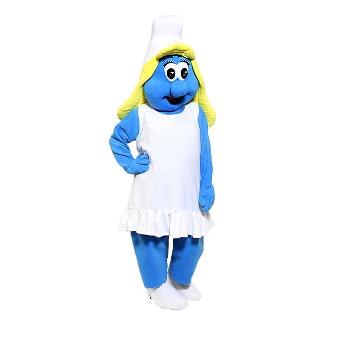 Amazon.com: Smurfette - Disfraz de mamá para fiesta de ...