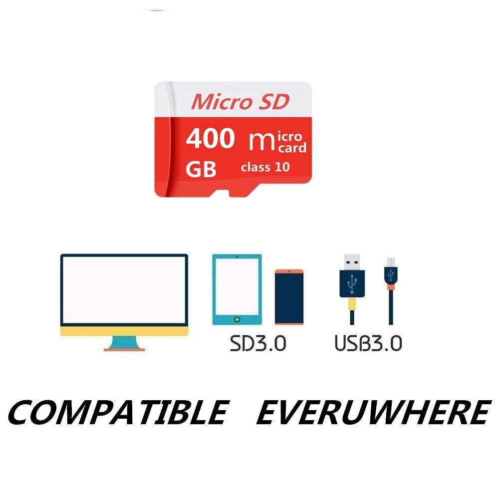 Pondisk - Tarjeta Micro SD (400 GB, Clase 10, Tarjeta Micro ...