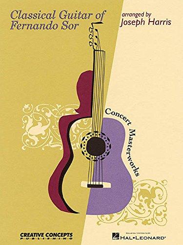 Fernando Sor Classical Guitar Book - Classical Guitar of Fernando Sor