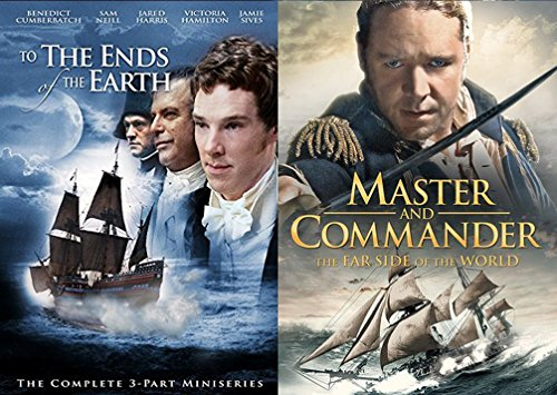 Master and Commander: The Far Side of the World DVD + To The Ends of the Earth MiniSeries War 2 Pack At Sea Movie Action (Mini Adventures Two Packs)