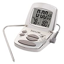 Taylor Digital Cooking Thermometer with Probe and Timer