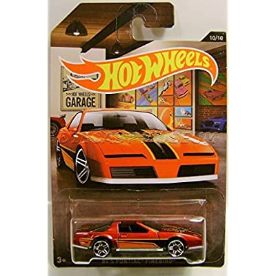 Hot Wheels 1980 '80 PONTIAC FIREBIRD TRANS AM GARAGE SERIES 10/10 DIECAST 2016: Toys & Games