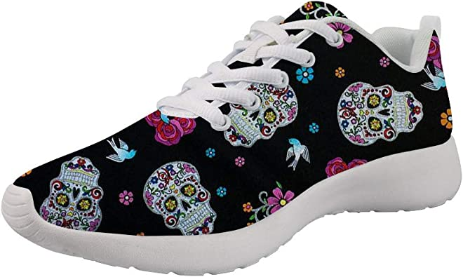 chaussures tête de mort homme femme 6