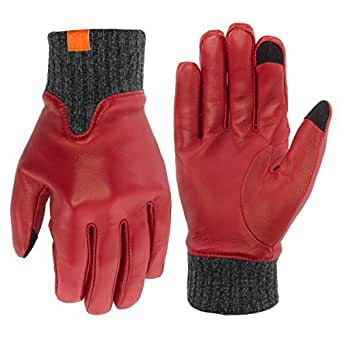 Honns Womens Genuine Leather Winter Gloves Tech Texting