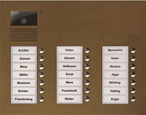 TCS Videosprechanlage für ein 24 Wohneinheiten Mehrfamilienhaus