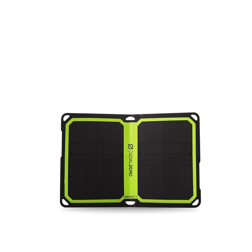 Goal Zero Nomad 7 Plus, Pannello Solare Unisex, Nero GOALC|#Goal Zero 11806