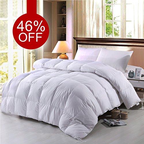 BTWZM Goose Down Comforter, Natural Materials Hypoallergenic