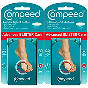 Compeed Advanced Blister Care Cushions, Small, Package of 6 Cushions (2 Count)