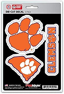 product image for NCAA Clemson Tigers Team Decal, 3-Pack