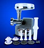 New 3000W/ 3.4HP Compact Size Stainless Steel Electric Meat Grinder with Free Sausage Stuffer Tube