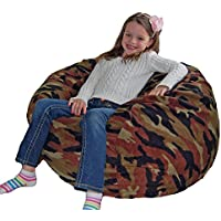 Ahh! Products Woodland Camouflage Anti-Pill Fleece Washable Large Bean Bag Chair