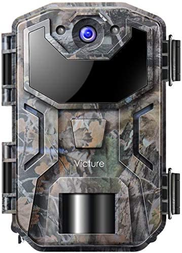 Victure Trail Game Camera 20MP 1080P Full HD with Night Vision Motion Activated IP66 Waterproof for Deer Hunting, Wildlife Watching and Home Security