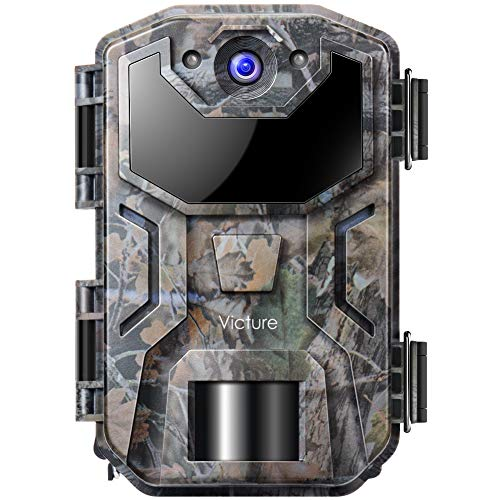 Victure Trail Game Camera 20MP 1080P Full HD with Night Vision Motion Activated Waterproof IP66 Wildlife Trap Camera No Glow Infrared with for Hunting and Wildlife Watching