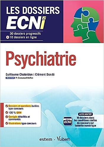 Télécharger en ligne Psychiatrie - 30 dossiers progressifs et 10 dossiers en ligne epub, pdf