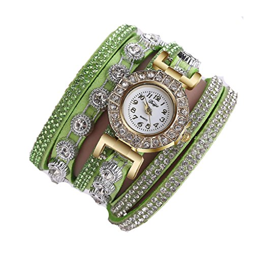Analog Set Bracelet - Celendi_Jewelry Fashion Watch Casual Analog Quartz Bracelet Watch Gift for Women