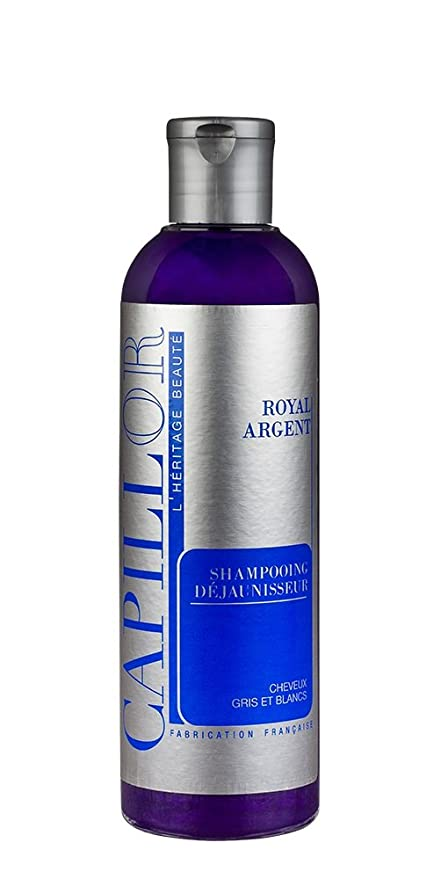 shampoing bleu cheveux gris