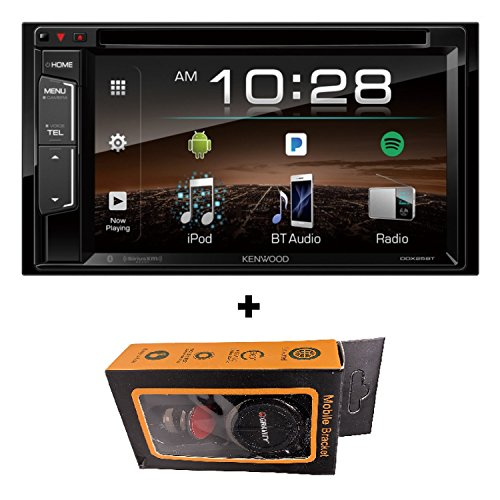 Kenwood DDX25BT 6.2-Inch Double DIN In-Dash Car Receiver with Magnet Holder (2018 (Kenwood Connection)