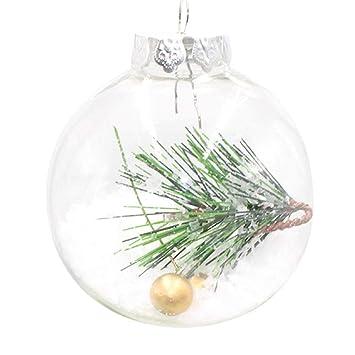 Tianranrt Weihnachten Baum Anhanger Hangen Haus Schmuck Dekoration