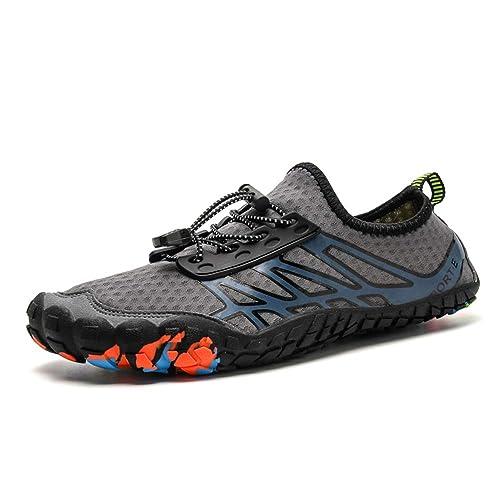 visionreast Water Shoes Chaussons de Sport Aquatique séchage Rapide Chaussure d'eau Plage et Piscine Homme 35 47
