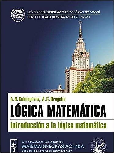 Lógica matemática: Introducción a la lógica matemática