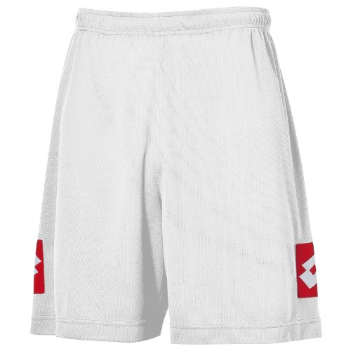 Lotto Mens Football Sports Speed Shorts (L) (White)