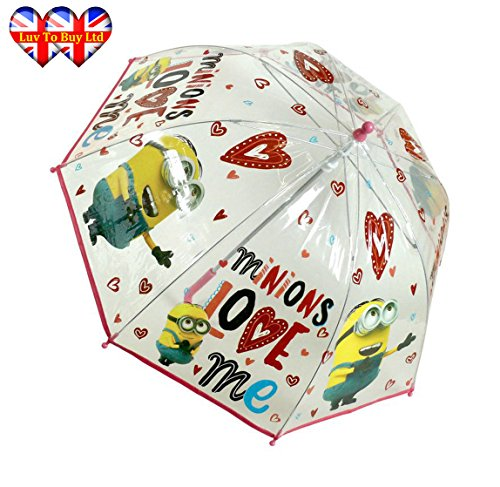 Minions Umbrella Official Umbrella for Kids Love Me Umbrella by Minions (Image #1)