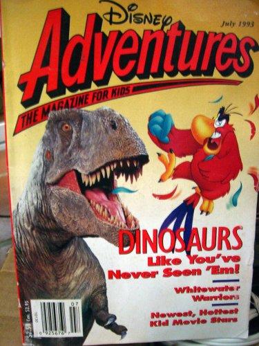 DISNEY ADVENTURES THE MAGAZINE FOR KIDS, JULY 1993