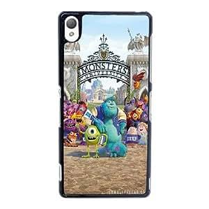 M0F12 Monsters Inc K8Z6EJ funda sony Xperia Z3 funda caja del teléfono celular cubren IE6GLS1LL negro