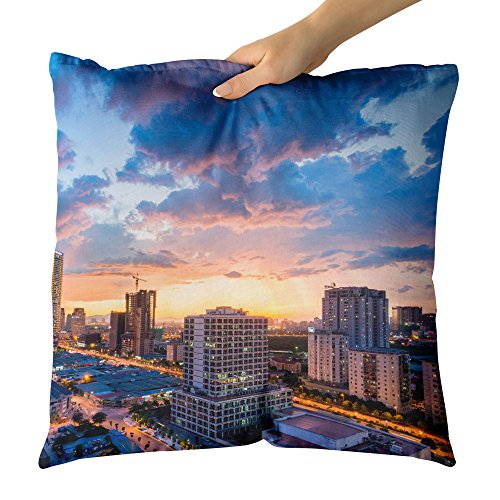 Westlake Art Decorative Throw Pillow   Area Scape   Photography Home Decor Living Room   18X18in  X8r 53B 791
