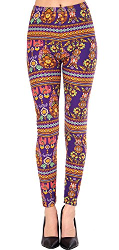 dffae4800265e VIV Collection Popular Printed Brushed Buttery Soft Leggings Regular Plus 40+  Designs List 4