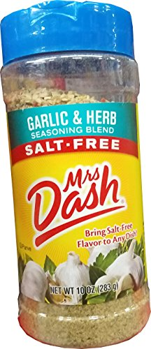 Mrs.Dash Garlic And Herb Seasoning Blend, 10 Ounce