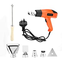 Not Easy to Damage Adjustable Temperature 380/500℃ Electric Hot Air Gun, Heat Gun, for DIY Project Home Maintenance
