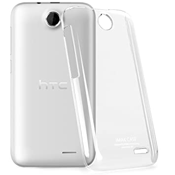 brand new 2a7d0 77694 Heartly Imak Crystal Clear Hot Transparent HTC Desire 310 Dual SIM Thin  Hard Back Case Cover