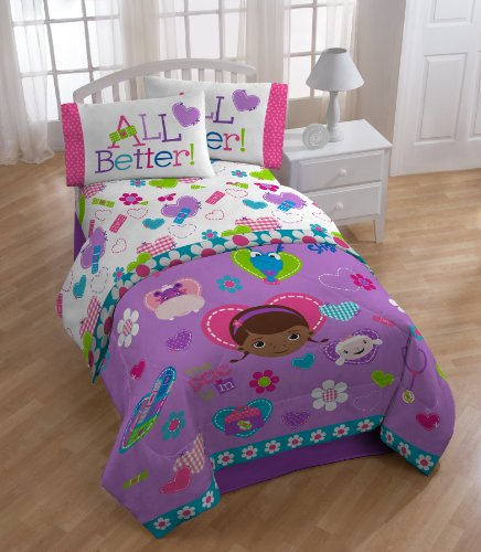 Doc McStuffins Doc and Friends Sheet Set, Twin