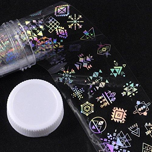 Major Design Nail Art Foil Stickers Transfer Decal Tips Mani