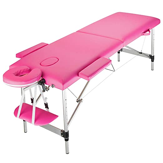 Amazon.com: Mesa de masaje portátil mesa de masaje salón ...