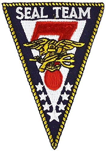 (EagleEmblems PM1277 Patch-USN,Seal Team,07 (3.5''))