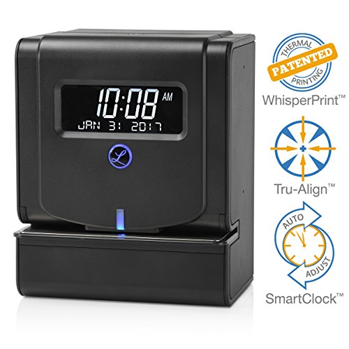 - Lathem Heavy Duty Maintenance-Free Thermal Print Time Clock (2100HD)