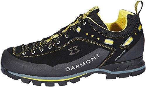 Garmont Dragontail Scarpe Mnt Uomini Neri / Scarpe Gialle Neri Taglia 11.5 Uk | Eu 46.5 2.018 Scarpe