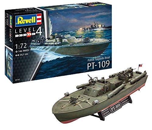 Revell 05147, Patrol Torpedo Boat PT-109, 1:72 scale plastic model